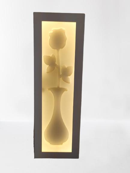 Flower shape LED Bed side Wall light