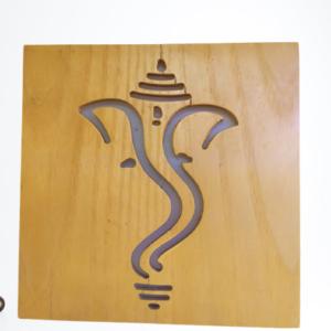 Ganesh wall light